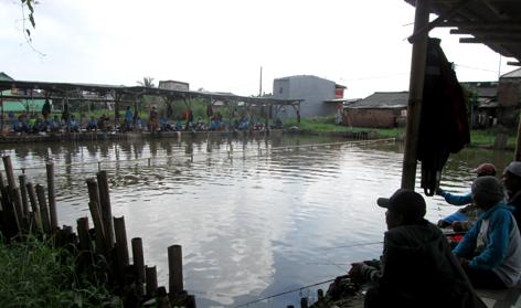 Kolam lomba & sewa
