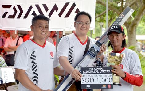 2nd-Runner Up, Ng Chee Meng, 7.09 kg-Sea-Bass
