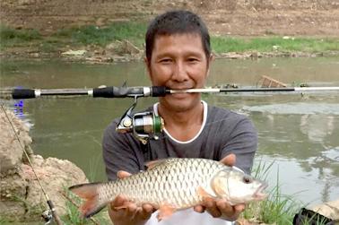 Strike dengan ikan jelawat