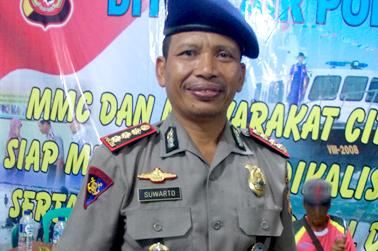 Dir Polair Polda Jabar Kom Bes Pol Suwarto SH.MH.