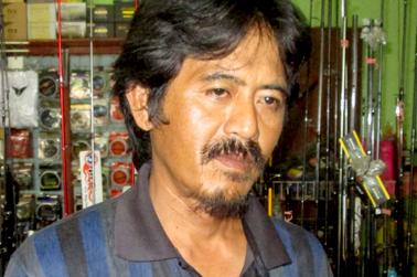 Ibun (pemilik Jatayu Fishing)