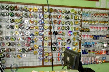 Senar pancing memudahlan pemancing untuk memilih