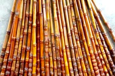 Joran dari bambu atau disebut welasan