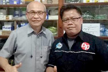 Jalin kerjasama dengan Toko Pancing UD Bandung, Surabaya
