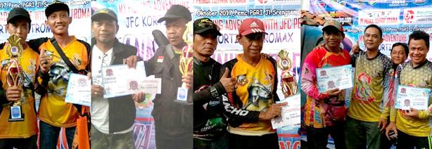 Para pemenang Milad JFC Petromax kedua