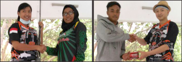 Para pemenang Milad Pertama JWFC