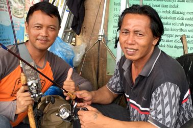Peserta dari Surabaya