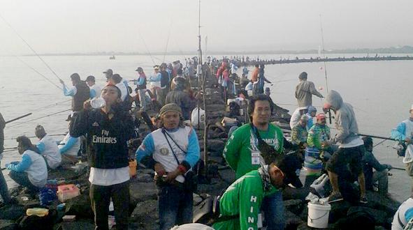 500 pemancing ikut serta di event ini