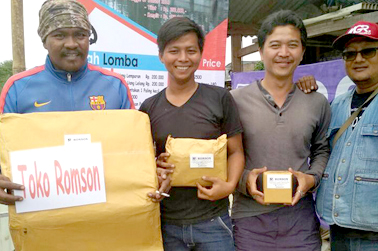 Doorprize dari Ronson Fishing