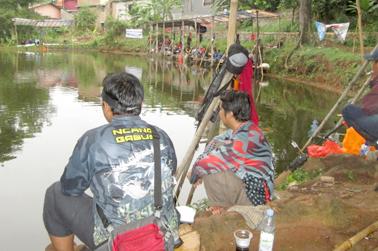 Pemancingannya luas cocok untuk wild fishing