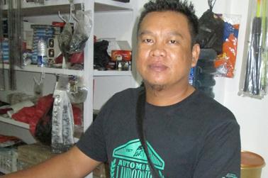 Yono (owner Sahabat Pancing)