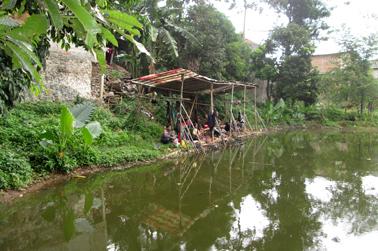 Setaip lapak bisa menampung 10 - 12 pemancing